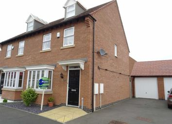 Thumbnail 4 bedroom semi-detached house for sale in Columbus Lane, Earl Shilton, Leicester