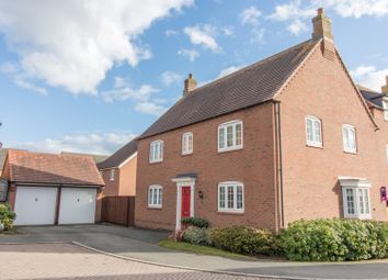 Thumbnail 4 bed detached house for sale in Millday Close, Kibworth Harcourt