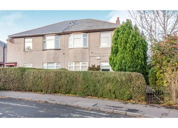 Thumbnail 3 bed flat for sale in Arbroath Avenue, Glasgow