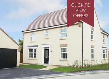 "Thumbnail 4 bed detached house for sale in ""Layton"" at Mount Street, Barrowby Road, Grantham"