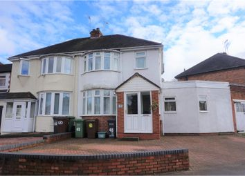 Thumbnail 3 bed semi-detached house for sale in Valley Road, Solihull