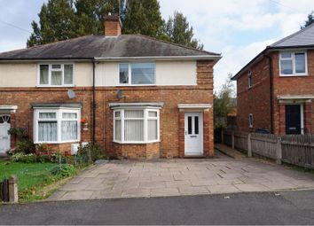 Thumbnail 3 bed semi-detached house for sale in Peckham Road, Birmingham