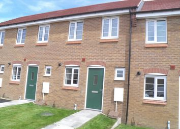 Thumbnail 2 bed terraced house to rent in Newbury Crescent, Bourne, Lincolnshire