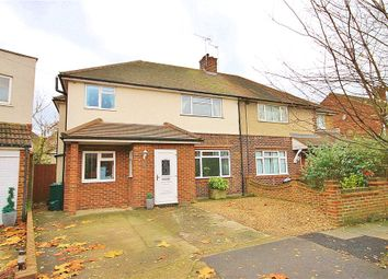 Thumbnail 5 bed semi-detached house for sale in Kinross Drive, Sunbury-On-Thames, Surrey