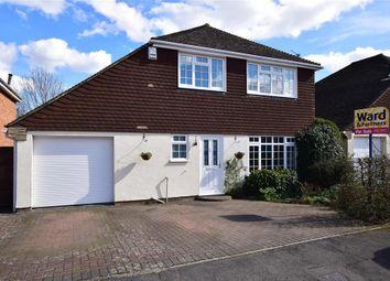 Thumbnail 3 bed detached house for sale in Eddington Close, Maidstone, Kent