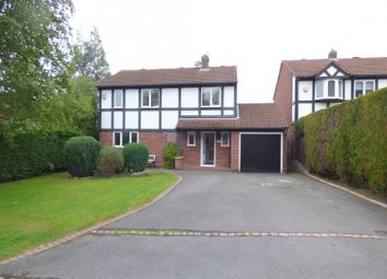 Thumbnail 4 bed property to rent in Clipstone Gardens, Oakwood, Derby