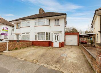 Thumbnail 3 bed semi-detached house for sale in Westgate Crescent, Cippenham, Slough