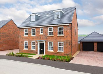 "Thumbnail 5 bed detached house for sale in ""Buckingham"" at Snowley Park, Whittlesey, Peterborough"