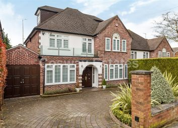 Thumbnail 5 bedroom detached house for sale in Tretawn Gardens, Mill Hill, London