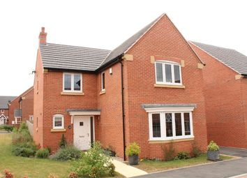 Thumbnail 4 bed detached house for sale in Poppy Road, Lutterworth