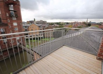 Thumbnail 1 bed flat to rent in Penthouse, Bellerby Court, Hungate, York Centre