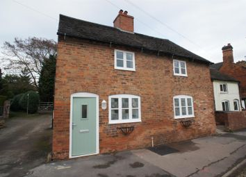 Thumbnail 1 bed semi-detached house to rent in Egginton Road, Hilton, Derby