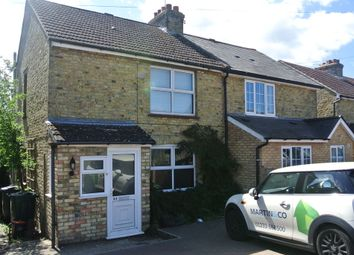 Thumbnail 2 bed semi-detached house to rent in Grosvenor Road, Kennington, Ashford