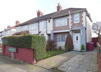 Thumbnail 3 bed terraced house for sale in The Crescent, Huyton, Liverpool