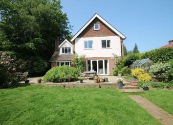 Thumbnail 4 bed detached house for sale in Wonham Way, Peaslake, Guildford
