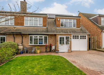 Thumbnail 4 bed semi-detached house for sale in Nelson Close, Winchmore Hill, Amersham