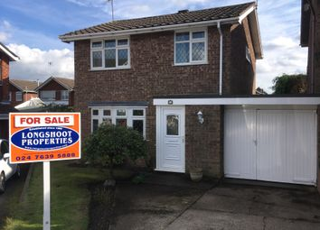 Thumbnail 3 Bed Link Detached House For Sale In The Raywoods Nuneaton
