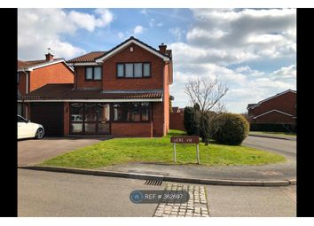 Thumbnail 4 bed detached house to rent in Mere View, Walsall