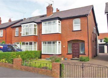 Thumbnail 4 bed semi-detached house for sale in Lynton Gardens, Harrogate