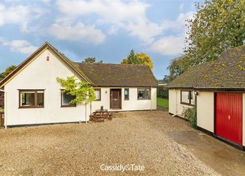 Thumbnail 4 bed bungalow for sale in Rose Lane, Wheathampstead, Hertfordshire