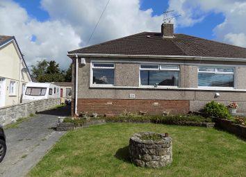 Thumbnail 3 bed semi-detached bungalow for sale in Burns Crescent, Cefn Glas, Bridgend.