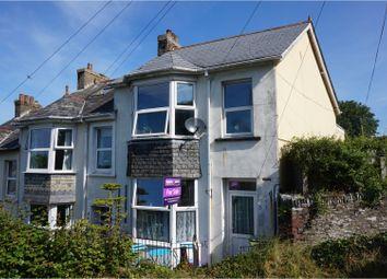Thumbnail 3 bed end terrace house for sale in Castle View, Liskeard