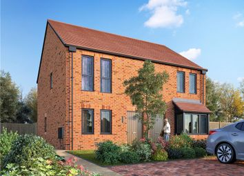 Thumbnail 2 bed semi-detached house for sale in Station Road, Delamere, Northwich