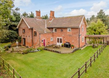 Thumbnail 4 bed farmhouse for sale in Suffolk, Willingham St Mary, Near Beccles Equestrian / Lifestyle