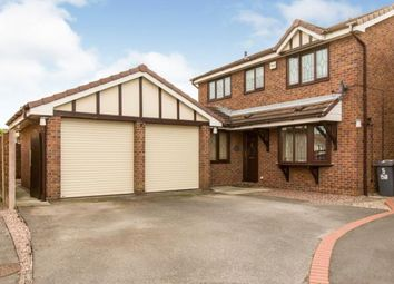Thumbnail 4 bed detached house for sale in Bridgemere Close, Sandbach, Cheshire