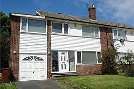 Thumbnail 4 bedroom property to rent in Sheldon Grove, Gosforth, Newcastle Upon Tyne