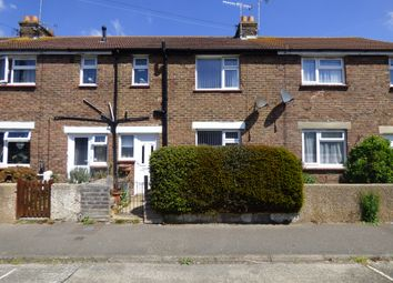 Thumbnail 3 bed terraced house for sale in Whitelea Road, Wick, Littlehampton