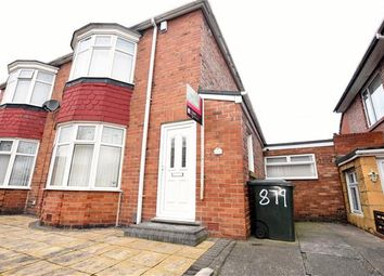 Thumbnail 2 bed semi-detached house for sale in Welbeck Road, Walker, Newcastle Upon Tyne