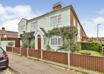 Thumbnail 3 bed end terrace house for sale in Corton Road, Norwich