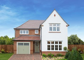 "Thumbnail 4 bed detached house for sale in ""Marlow +"" at Homington Avenue, Coate, Swindon"