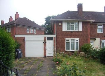 Thumbnail 2 bed end terrace house for sale in Swancote Road, Birmingham, West Midlands