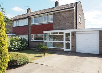Thumbnail 3 bed semi-detached house for sale in Christopher Crescent, New Balderton, Newark