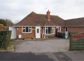 Thumbnail 2 bed semi-detached bungalow for sale in Oakwood Avenue, Bexhill-On-Sea