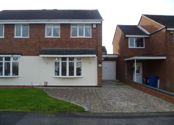 Thumbnail 3 bed semi-detached house to rent in Foxglove, Amington, Tamworth, Staffordshire