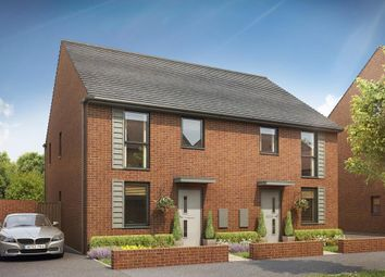 "Thumbnail 3 bed semi-detached house for sale in ""Ashurst"" at Dryleaze, Yate, Bristol"