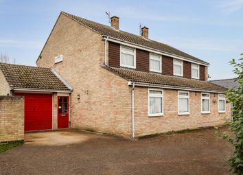 Thumbnail 4 bed semi-detached house for sale in Taylors Lane, Swavesey, Cambridge