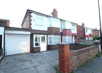 Thumbnail 3 bed semi-detached house to rent in Ponsonby Road, Stretford, Manchester