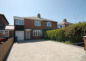 Thumbnail 3 bed semi-detached house for sale in Kensington Villas, Newcastle Upon Tyne