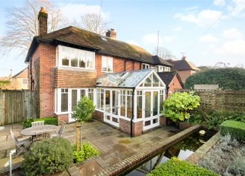 Thumbnail 4 bed semi-detached house for sale in Cheriton Road, Winchester, Hampshire