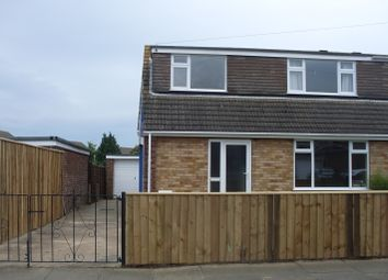 Thumbnail 3 bed semi-detached house to rent in Ashby Close, Grimsby