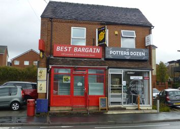 Thumbnail Retail premises for sale in Leek Road, Stoke-On-Trent, Staffordshire