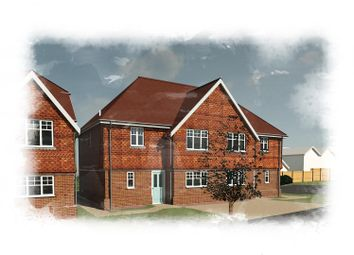 Thumbnail 3 bed semi-detached house for sale in Oak Avenue, Deanland Wood Park, Golden Cross, Hailsham