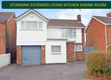 Thumbnail 4 bed detached house for sale in Ridgeway, Oadby, Leicester