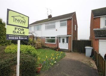 Thumbnail 3 bed semi-detached house for sale in Riverside Road, Newark, Nottinghamshire.