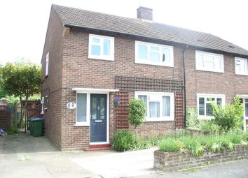 Thumbnail 3 bed semi-detached house for sale in Rivernook Close, Walton-On-Thames
