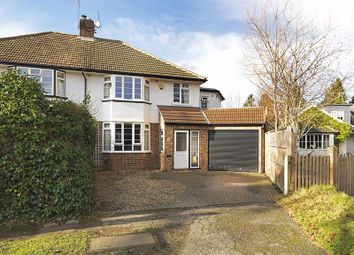 Thumbnail 4 bedroom semi-detached house for sale in Angel Road, Thames Ditton